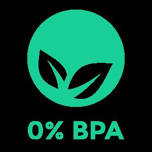 0% BPA Symbol für PULPDENT ACTIVA Produkte