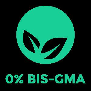 kein BIS-GMA Symbol für PULPDENT ACTIVA Produkte