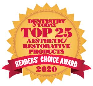 Auszeichnung Top25 Dentistry today