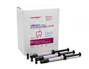 Produktbild EMSWLFB-Embrace-Pit-Fissure-Seal-LowFill-Grosspackung-20 Spritzen plus 100 Kanülen-off-white-shade